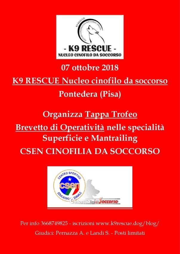 k9 rescue tappa